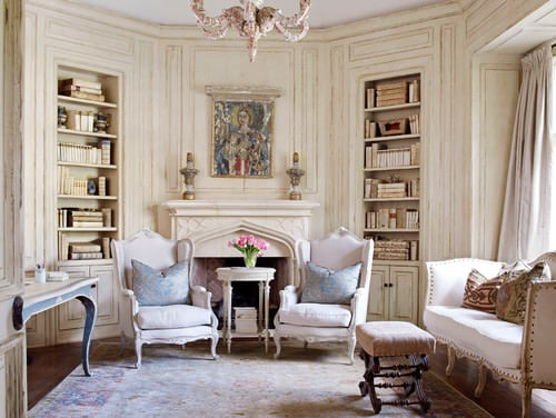 shabby chic living rooms pictures modern sofa designs for room 20 cool style ideas 2019 with beige walls built in shelving and a standard