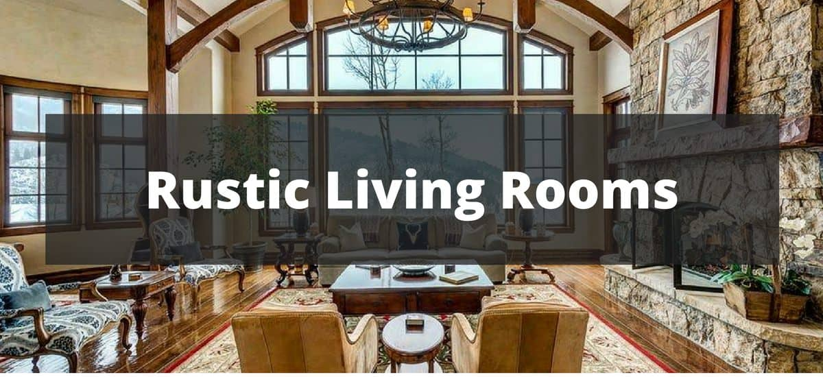 rustic living rooms white tile floors in room 75 ideas for 2019