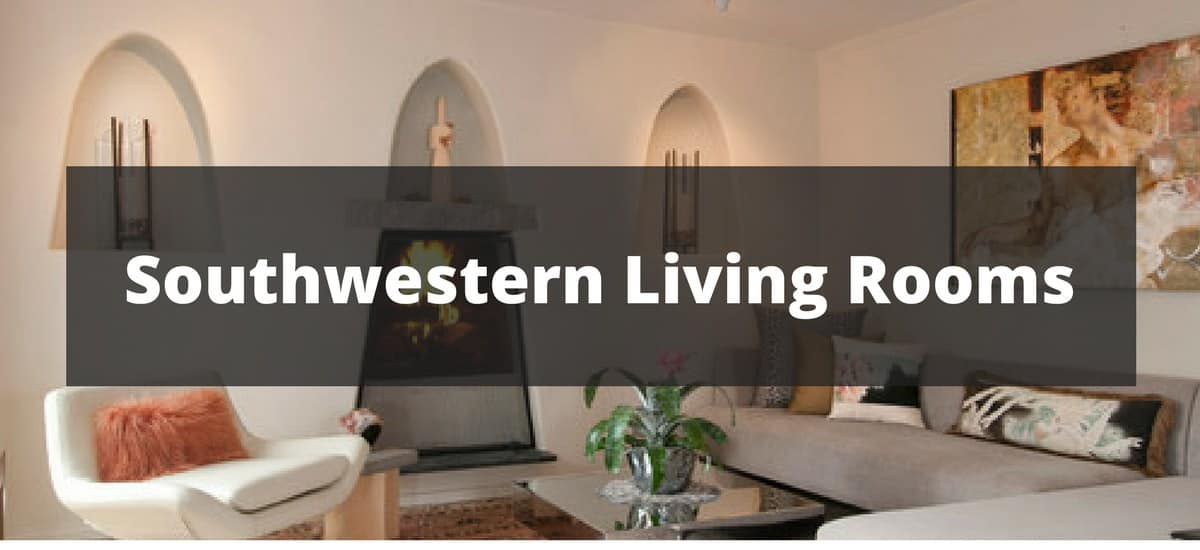 southwest living rooms room fireplace decor 35 southwestern ideas for 2019