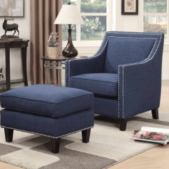 Blue Accent Chairs For Living Room Toddler High Chair Seat 100 Fabulous With An Ottoman 2019 Matching