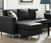 sectional sofa small space