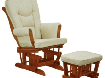 Glider chair for mother and baby