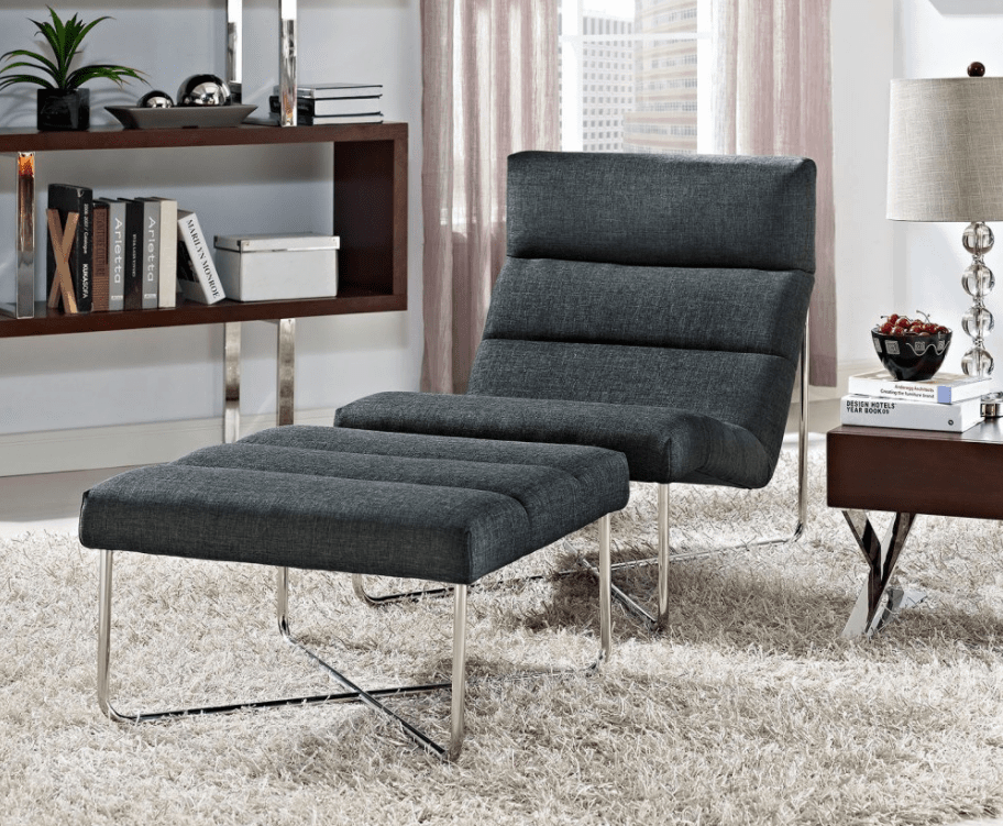 gray accent chair with ottoman covers gold 100 fabulous chairs an for 2019 modern grey chrome legs and matching