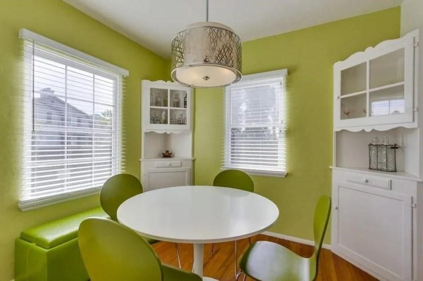 40 green dining room