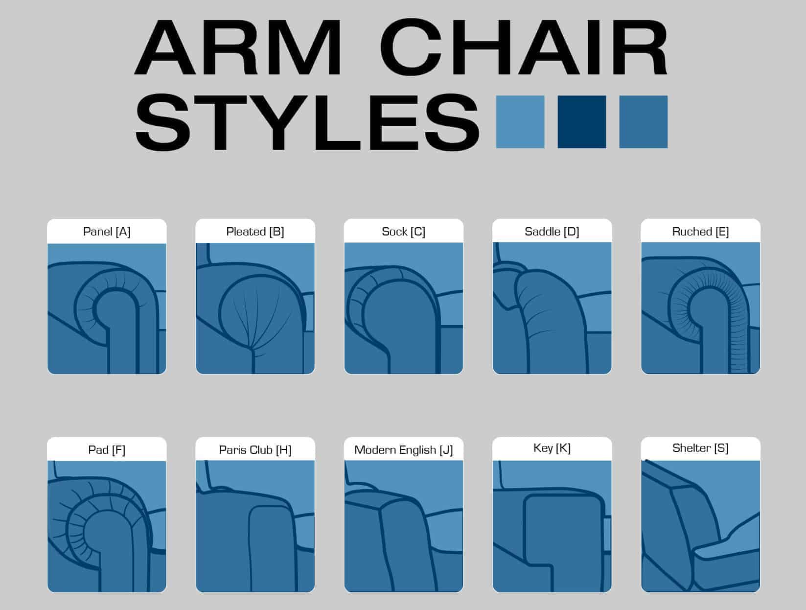sofa arm couch bed trolley 15 styles illustrated guide