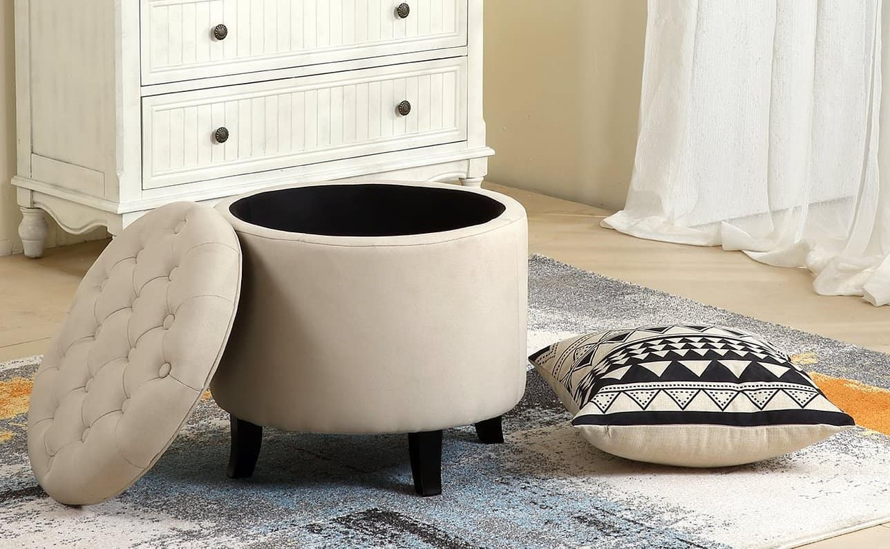 14 best small ottoman options for 2021