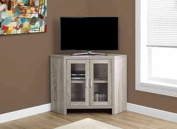 Small Corner TV Stands Cabinet