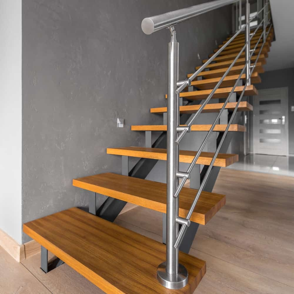 50 Cool Modern Staircase Ideas Photos | Modern Steel Staircase Design | Small House | Beautiful | Handrail | Solid Steel | Gallery