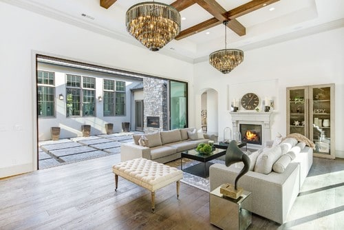 150 Transitional Living Room Ideas For 2018