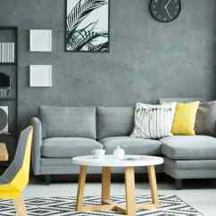 Living Room Couch And 2 Chairs Best Wall Colours For Small Rooms The Many Parts Of A Illustrated Diagrams Grey Sectional Sofa In