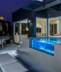 In-ground Swimming Pool Lighting Ideas And Colors