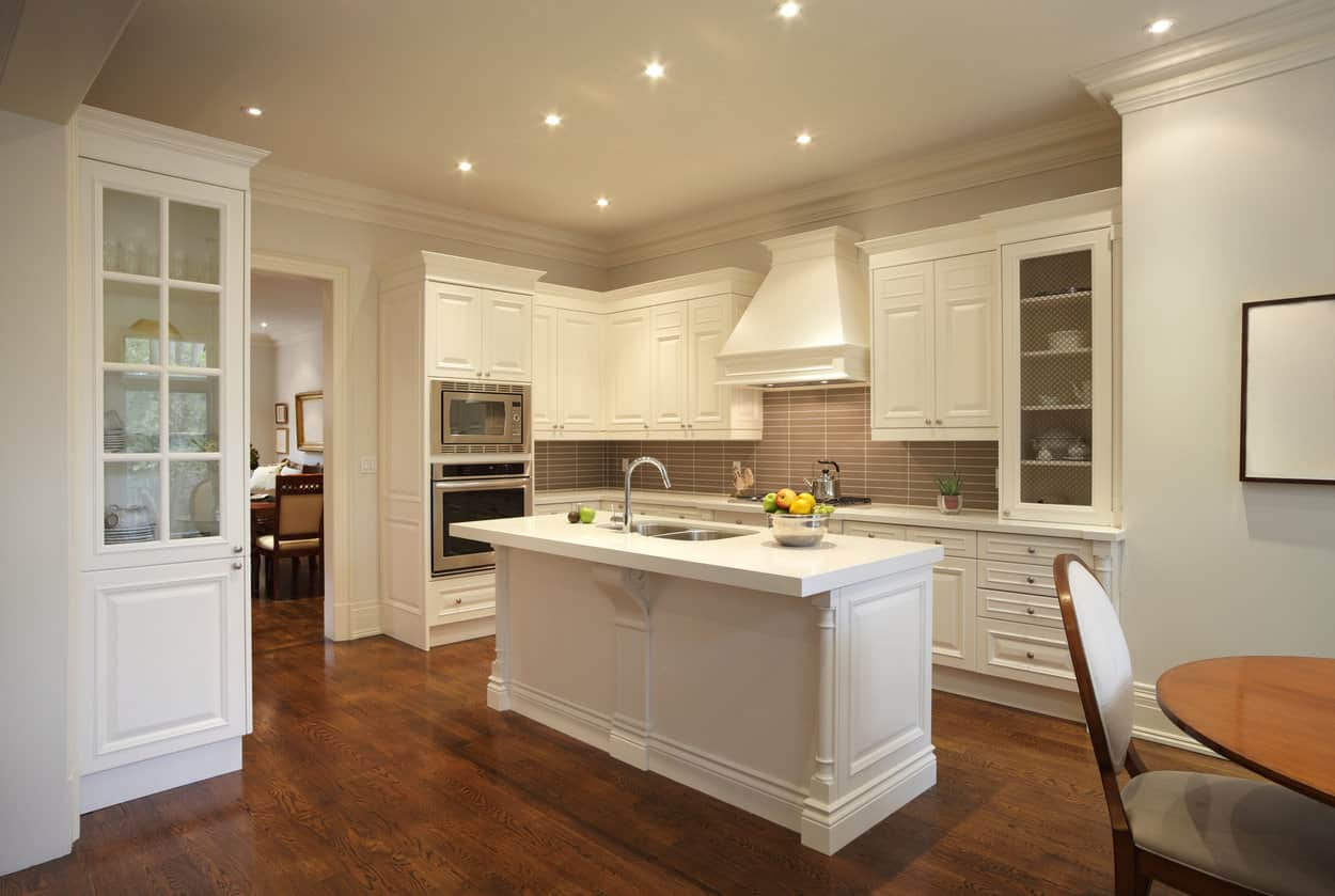 white kitchen islands black appliances 40 kitchens with narrow when you don t have all the space island