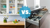 Kitchen Drawers vs. Cupboard Cabinets: What's Best?