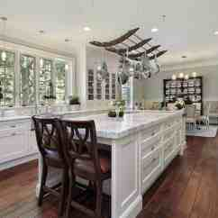 Kitchen Pot Rack Hardware Stores 35 Kitchens With Hanging Racks Pictures