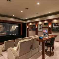 Kitchen Cabinets White Metal Table For 100 Home Theater & Media Room Ideas (2019) (awesome)