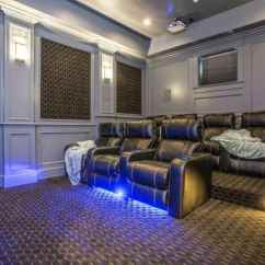 Curtain Design Ideas For Small Living Room Side Tables White 100 Home Theater & Media (2019) (awesome)