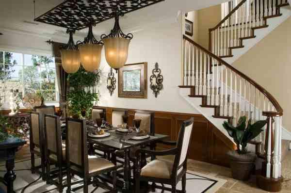 Ultra Luxury Dining Room Design -of