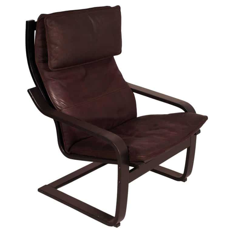 ikea rocking chairs what is a snuggler chair 25 facts about the iconic poang by brown in side profile