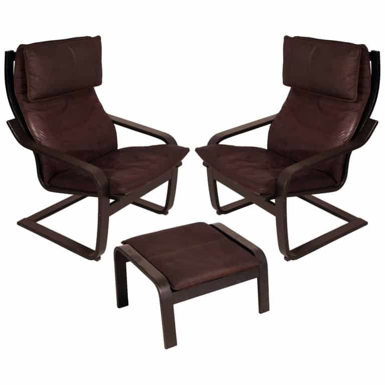 poang chairs ikea chair cushion 25 facts about the iconic by a timeless design from 1972 1970s set of and footstool