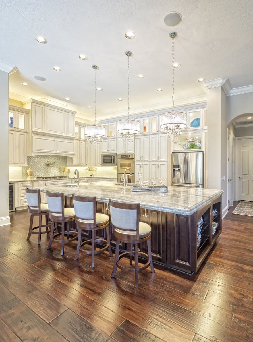 kitchen design pictures refacing cabinets before and after 101 custom ideas that took kitchens to the next level it doesn t get much finer than this u shape with chandeliers