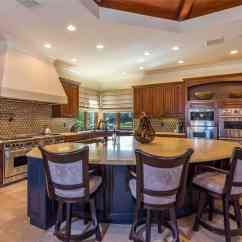 Kitchen Island Seating Tuscan 100 Islands With For 2 3 4 5 6 And 8 Chairs The Chef S Offers Professional Style Appliances A Granite Center Providing Space