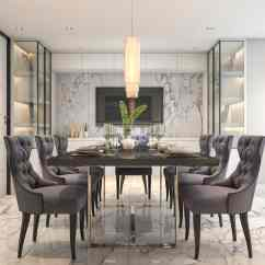 Black Dining Room Chair High Chairs Baby Bunting 101 Decor Ideas 2019 Styles Colors And Sizes If You Like Marble This Is The For With Floor