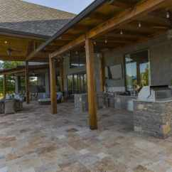 Outdoor Kitchen Patio Ideas Carpets 135 And Designs For 2019 The Features Brick Ground That Extends To Area
