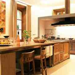 Best Kitchen Islands Wear 90 Different Island Ideas And Designs Photos Natural Wood Material Belies Modern Setup On This With Hidden Utility Cart Elaborate Cupboards