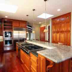 Kitchen Island Counter Ikea Remodel Cost 90 Different Ideas And Designs Photos Centered Around Lengthy Featuring Full Range Sink Dishwasher Plus Raised