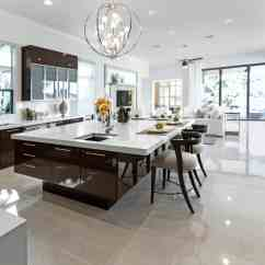 Kitchen Island Table Ideas Home Depot Lighting 90 Different And Designs Photos Large Modern White Dark Brown With Huge Breakfast Bar