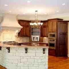 Islands For The Kitchen Smudge Proof Stainless Steel Appliances 90 Different Island Ideas And Designs Photos Unique White Stone With Marble Countertop Stands Apart In This Flush Natural