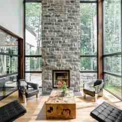 Living Room Fireplaces Pictures Of Rooms With Red Brick 500 Beautiful All Types Home The Boasts A Modish Style Tall Fireplace Photo Credit Dominic