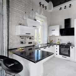 Modern Kitchen Images Retro Set 39 Design Ideas Photos Black And White I Think The Little Bit Of Is Just Perfect