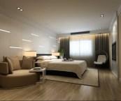 modern master room design