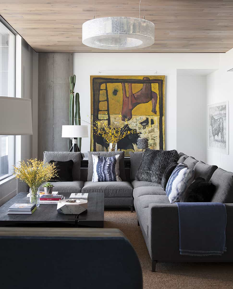 contemporary ideas for living rooms room and kitchen design 50 photos lighting is a key part of this mixes natural light with