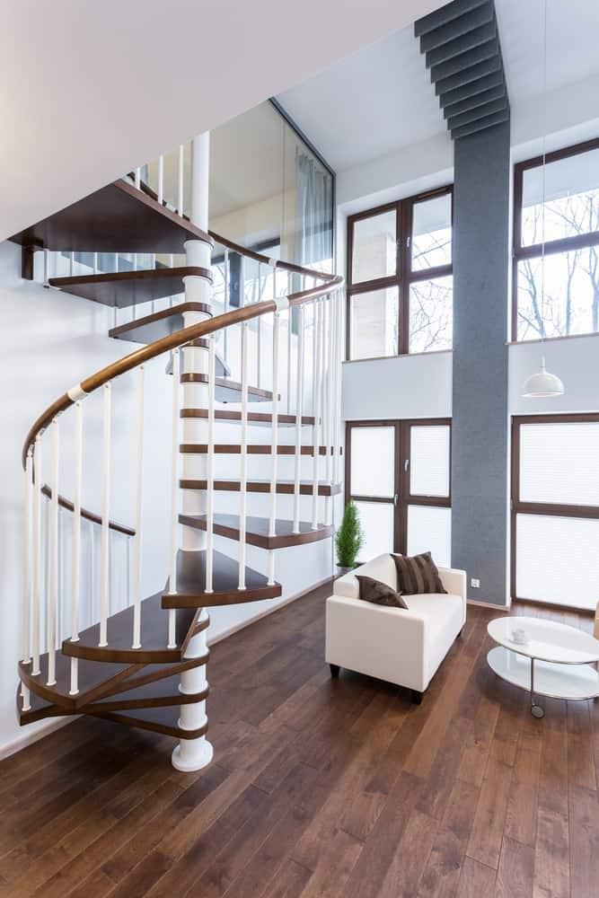 50 Cool Modern Staircase Ideas Photos   Mid Century Modern Stairs   Modern Craftsman   Design   Modern Middle House   Industrial Modern   Lighting