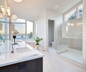 contemporary master bathrooms
