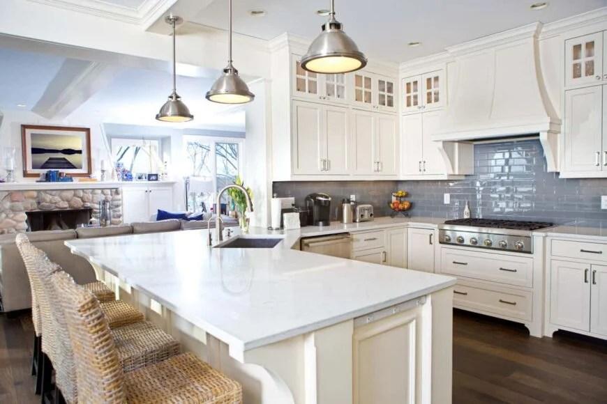 41 stunning white kitchen