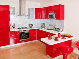 28 Red Kitchen Ideas with Red Cabinets 2020 Photos
