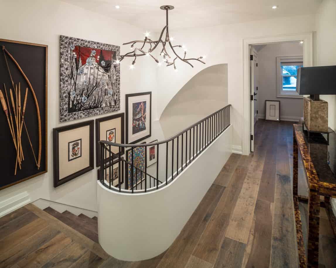 46 Upper Floor Staircase Landing Ideas Photos | Square Rug For Stair Landing | Area Rugs | Stair Treads | Handrail | Flooring | Mat