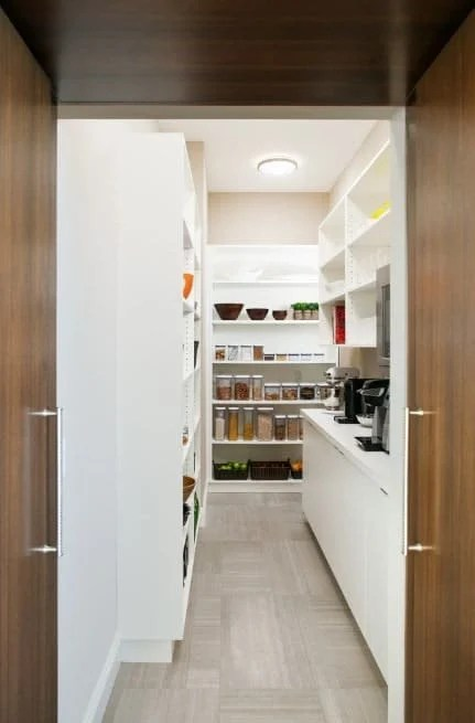 45 Gorgeous Walk In Kitchen Pantry Ideas Photos