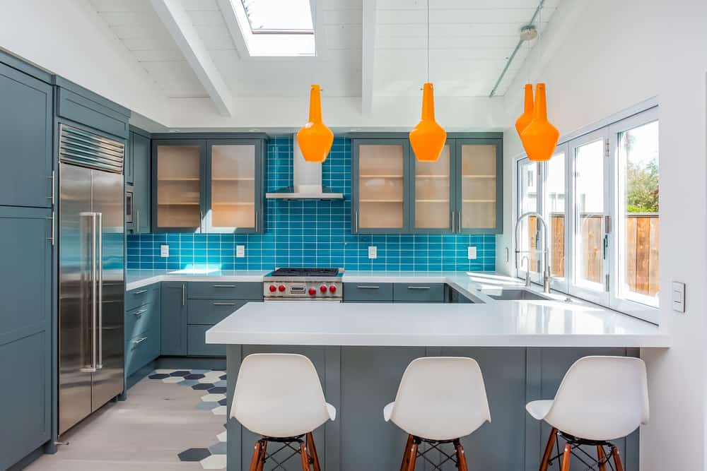 20 Beautiful Blue Kitchen Ideas Photos Home Stratosphere