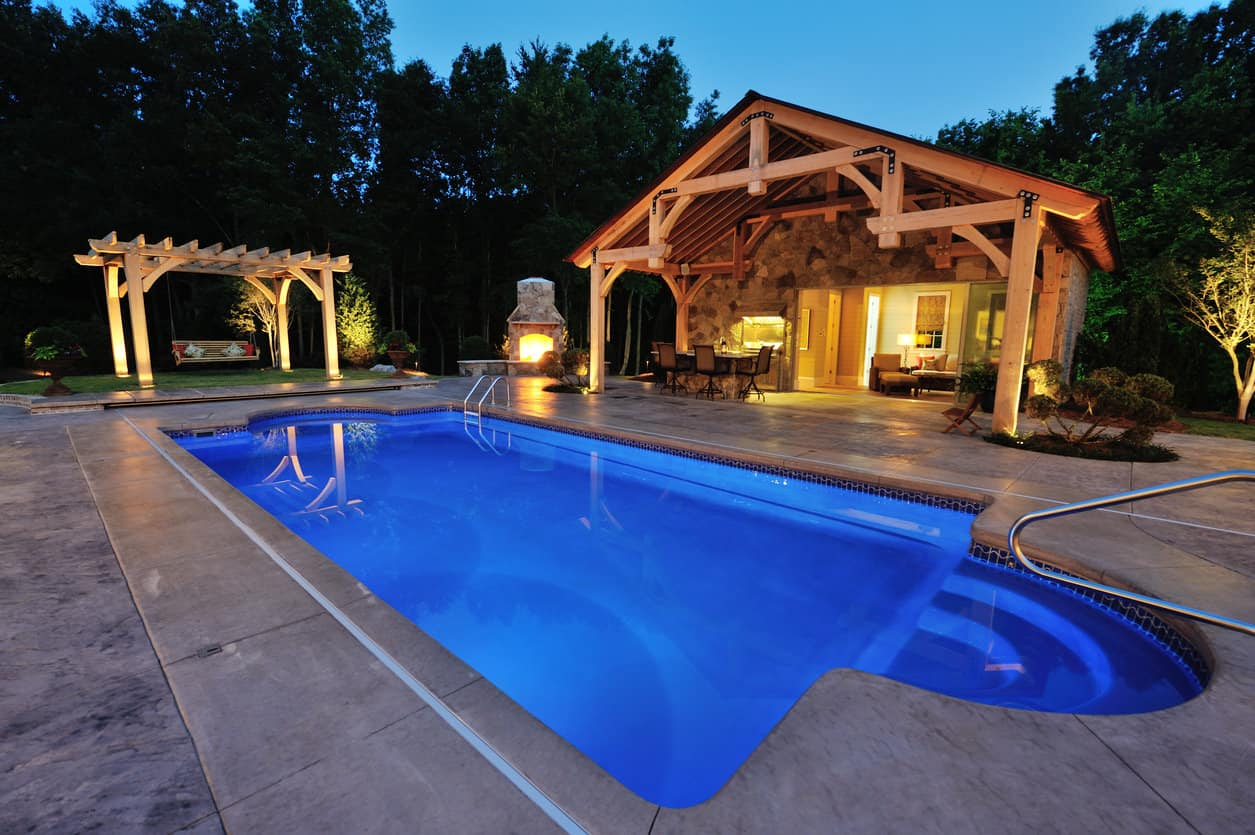 50 Swimming Pool House Cabana And Pergola Ideas Photos