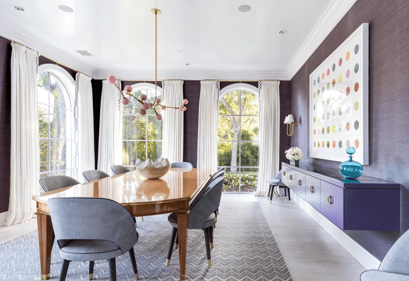 25 Purple Dining Room Ideas (Photos)