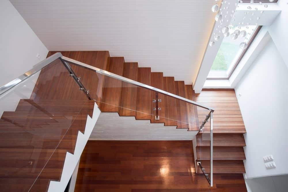 40 Three Quarter Turn Staircase Photos   Quarter Turn Staircase Design   Winder Staircase   Oak   Turning   Oval Shaped   Modern