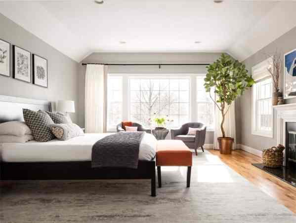 master bedroom decor 113 Transitional Master Bedroom Ideas (Photos)