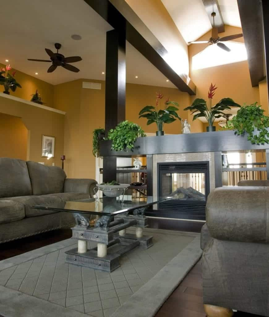 101 Beautiful Living Rooms With Fireplaces Of All Types Photos Home Stratosphere