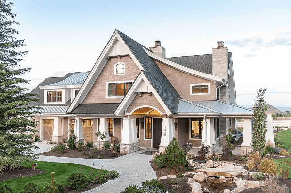 craftsman-style homes exterior