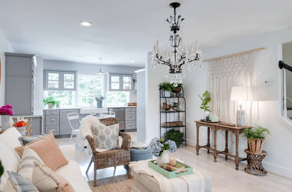 shabby chic style living room ideas