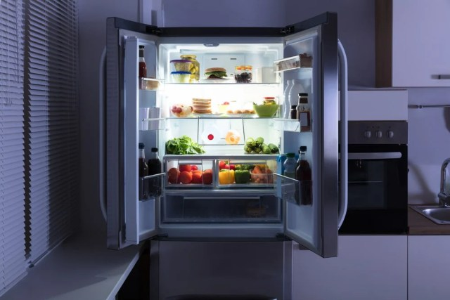 Açık buzdolabı